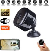 PIXMY® Smart Spy Camera 900 mAh - Verborgen Camera - Mini Camera - Spy Cam - WiFi 1080 HD - Incl. SD kaart 128 GB Kaartlezer - Nederlandse App - Nederlandse Handleiding