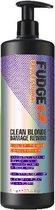 Fudge Clean Blonde Damage Rewind Violet-Toning Conditioner - 1000 ml