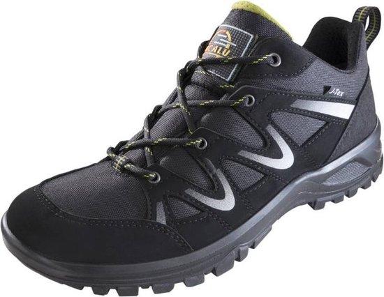 Jacalu Wandelschoenen zwart/grijs waterafstotend maat 43