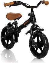 Baninni Loopfiets 2 - 3 Jaar Wheely Zwart - Bruin