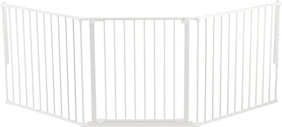 Babydan Flex L Veiligheidshekje - 90 t/m 223 cm - Wit