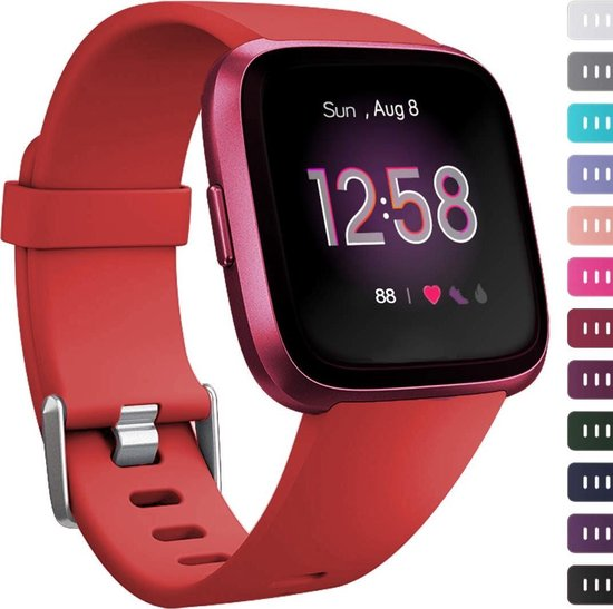 Fitbit versa sport band - rood - ML