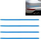 4 STKS Auto-Styling Willekeurige Decoratieve Sticker (Blauw)