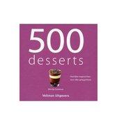Afbeelding van 500 Desserts