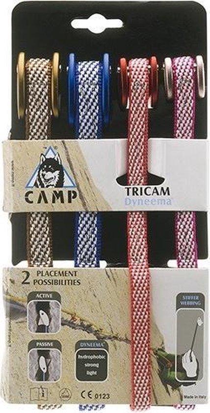 Camp Set Tri Cams Dyneema bruikbaar als cam en als nut