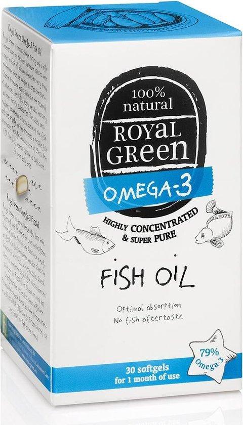 Royal Green Omega 3 Visolie