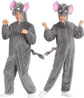 Olifant & Nijlpaard Kostuum | Dieren Onesie Pluche Olifant Kostuum | Medium / Large | Carnaval kostuum | Verkleedkleding
