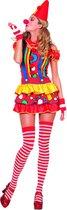 Sexy clownsjurkje bubbles - Maatkeuze: Maat 40