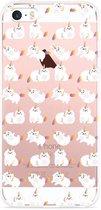 iPhone 5/5S/SE Hoesje Unicorn Cat