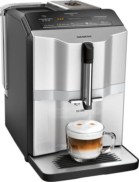 Siemens EQ.300 TI353201RW - Volautomatische espressomachine - Zilver