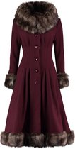 COLLECTIF MAINLINE PEARL COAT XXLARGE / UK 18