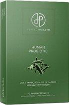 Perfect Health | Human Probiotic Support | Hoog gedoseerd | Kwartaalverpakking | 90 stuks | Met gepatenteerd probioticum | Wetenschappelijk best onderzocht
