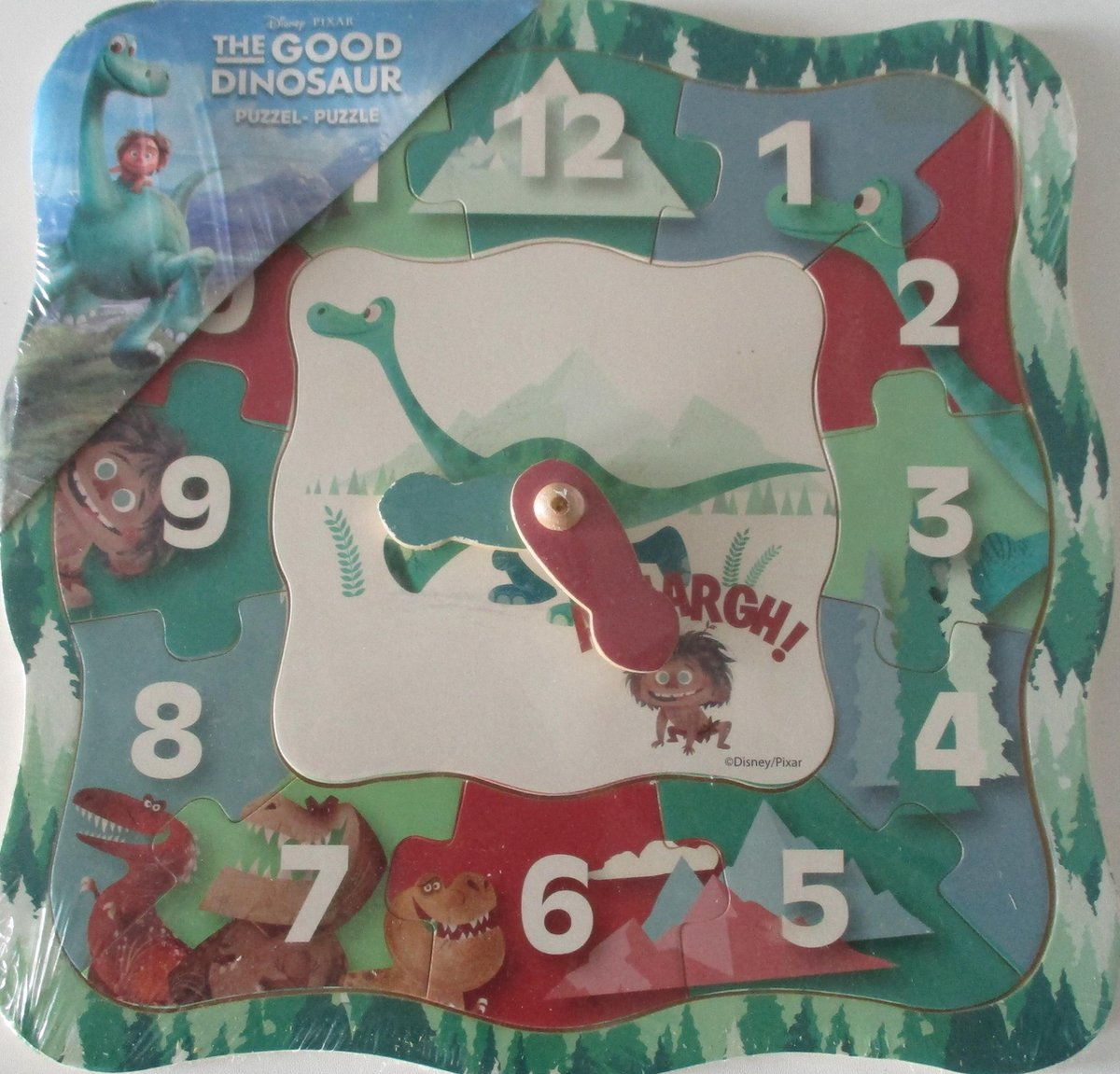 Disney The Good Dino   puzzelklok