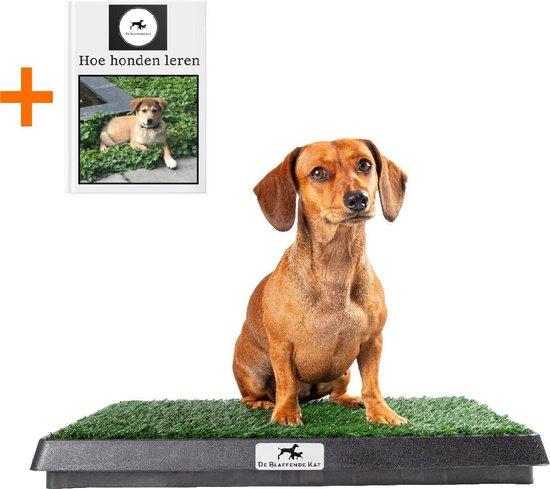Premium Hondentoilet - Inclusief gratis E-Book - Puppy pads - Trainingshulpen hond – indoor/outdoor hondentoilet met kunstgras