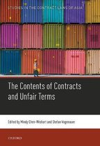 Contents of Contracts and Unfair Terms