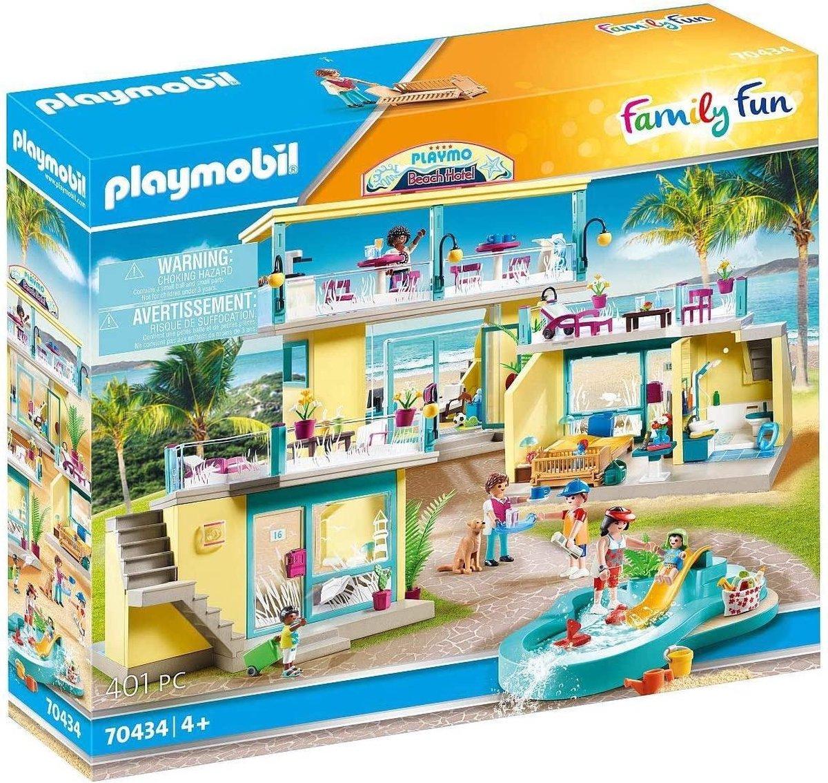 PLAYMOBIL Family Fun PLAYMO Strandhotel - 70434