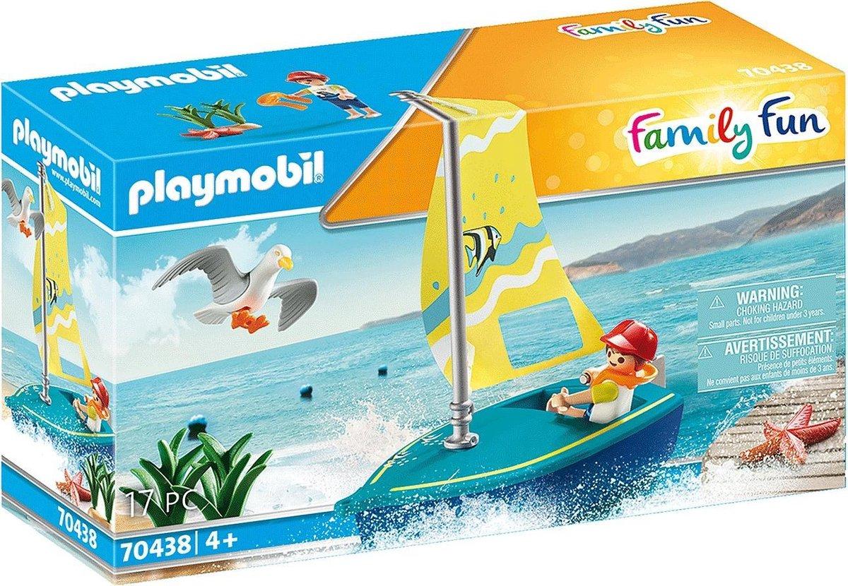 PLAYMOBIL Family Fun Zeilbootje - 70438