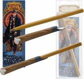 Noble Collection Toverstaf Fantastic Beasts: Newt's Wand And Bookmark