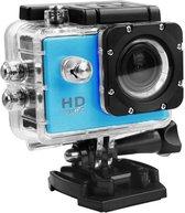 Action camera waterdicht, dash cam, full HD 1080p