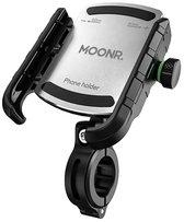 MOONR - Telefoonhouder fiets - GSM houder fiets - Universeel - Zilver