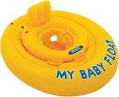 Intex - Opblaasbare - Baby - Zwemtrainer - 6 tot 12 Maanden - Opblaasbaar -Speelgoed -Zwembad- Zwemband -Babyfloat -Baby Float -drijfband- zwem - peuter - strand - zwemmen - baby - float - drijf - water - pret - waterpret