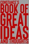 Constance's Book of Great Ideas and Thoughts