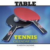 Table Tennis Calendar 2020