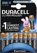 Duracell Ultra Power AAA Batterijen - Alkaline - 8 stuks