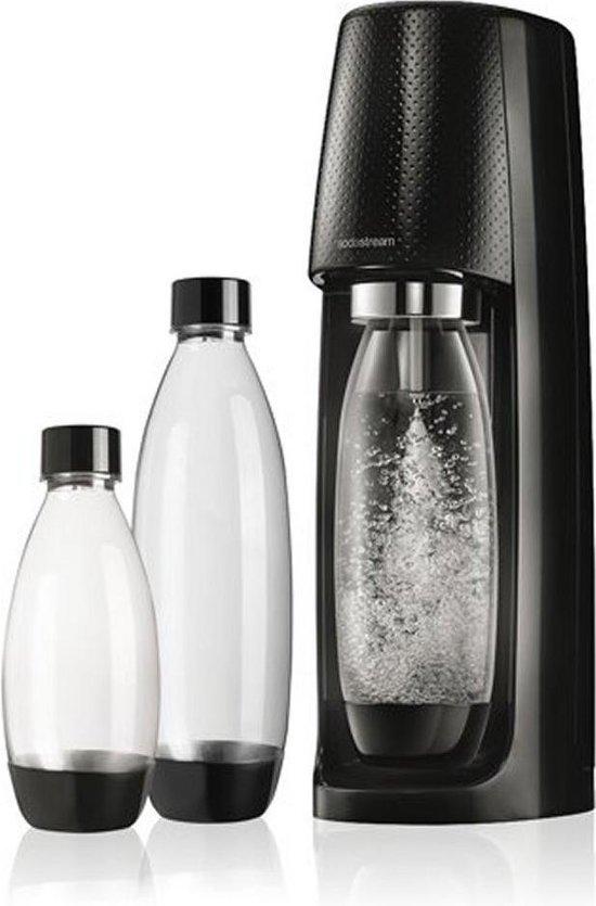 SodaStream Spirit Megapack black - Incl 3 flessen