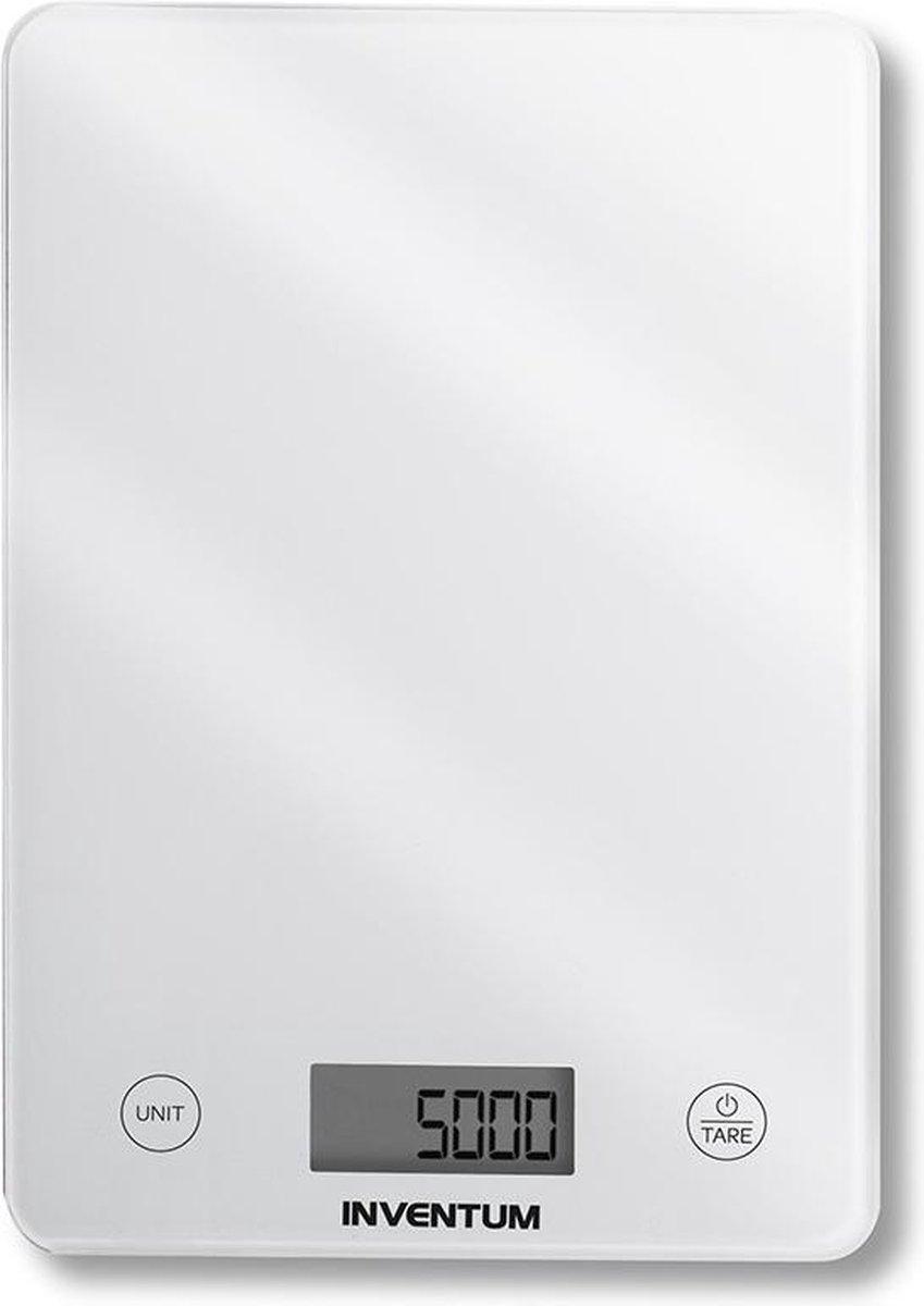 Inventum keukenweegschaal - Tot 5 kg - Wit