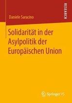 Solidaritat in Der Asylpolitik Der Europaischen Union