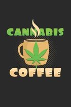 Cannabis coffee: 6x9 Cannabis - grid - squared paper - notebook - notes