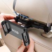R2B Tablet houder auto hoofdsteun- telefoonhouder- tablethouder- Zwart