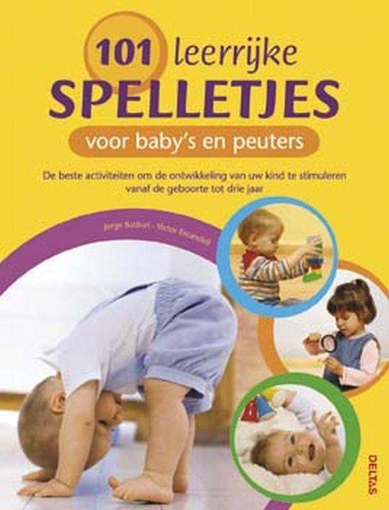Cover van het boek '101 leerrijke spelletjes voor baby