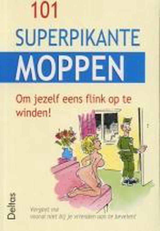 Cover van het boek '101 superpikante moppen'