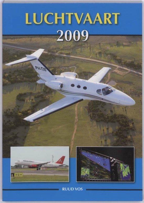 Cover van het boek 'Luchtvaart 2009'