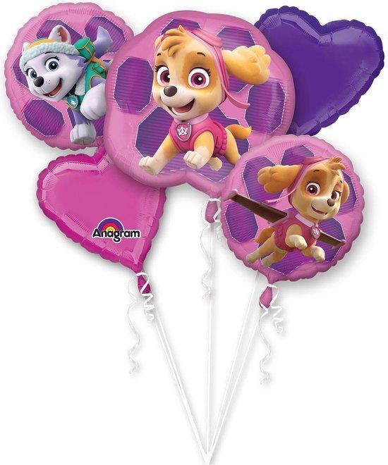 Paw Patrol Helium Ballon Set Skye & Everest 5 delig