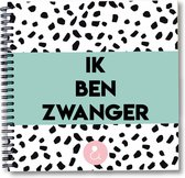 Zwangerschap - Zwangerschapsdagboek - dagboek - plakboek - fotoboek - baby - zwanger - genderneutraal - invulboek zwangerschap mint