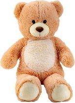 Pluche beer  h=80cm - Knuffelbeer - Teddybeer