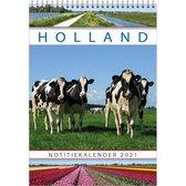 Comello Notitiekalender Holland 34 Cm Papier Groen/blauw/rood