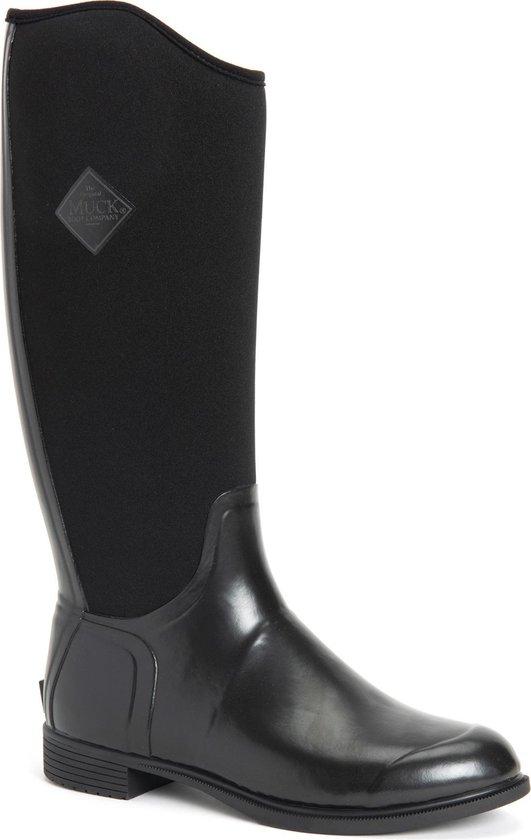 Muck Boot Derby Tall - Zwart - Dames - 38