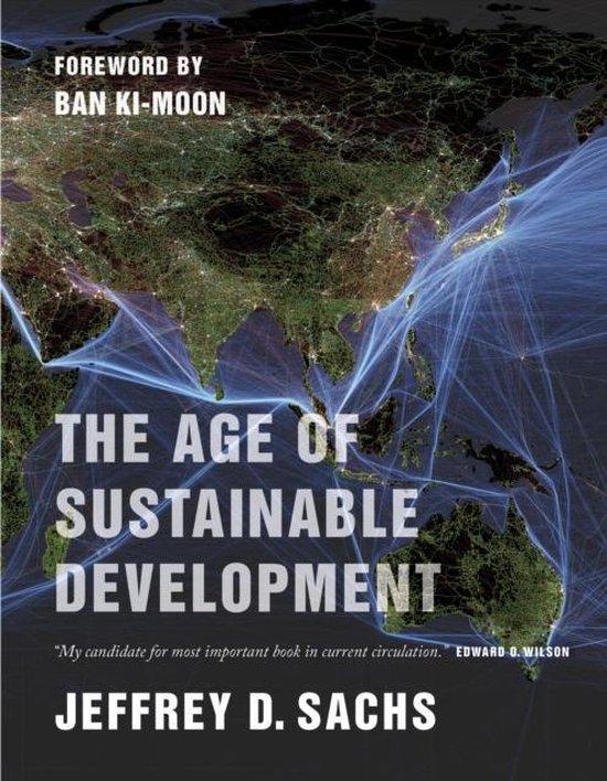 Boek cover The Age of Sustainable Development van Jeffrey D. Sachs (Paperback)
