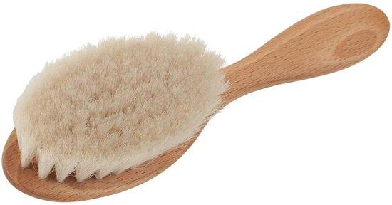 Haarborstel Baby - Beukenhout - Geitenhaar - 16 cm