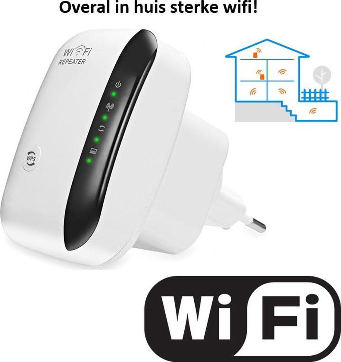 Living Needs Wifi Versterker – Wifi Repeater – Wifi Versterker stopcontact. kopen