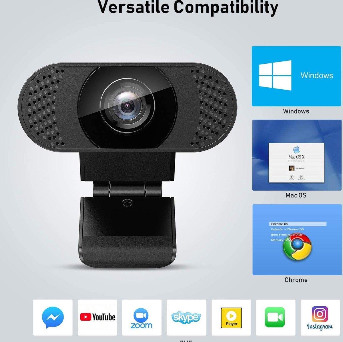 Wansview Webcam 1080P met microfoon