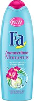 Fa Summertime Moments Douchegel 6x 250ml - Voordeelverpakking