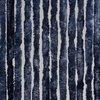 Kattenstaart Vliegengordijn - 120 x 230cm - Donker Blauw