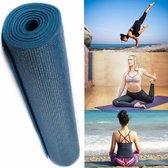 DirectSupply Yoga Mat Anti Slip - 5mm dik - Indigo blauw