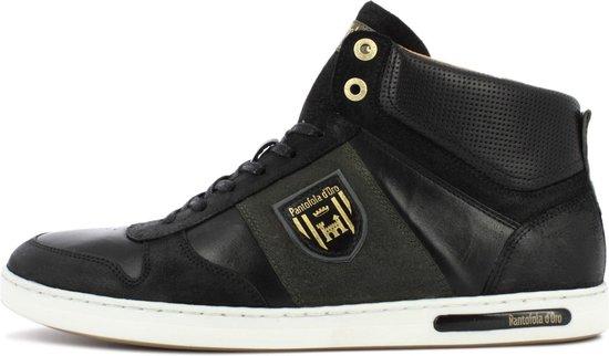 Pantofola d'Oro Milito Uomo Mid Zwarte Heren Sneaker 43
