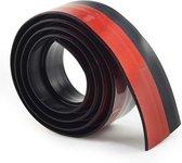 Rori - Aanpasbare Tochtstopper - Zelfklevende tochtstrip voor deuren - Zwart - 100 cm x 5 cm